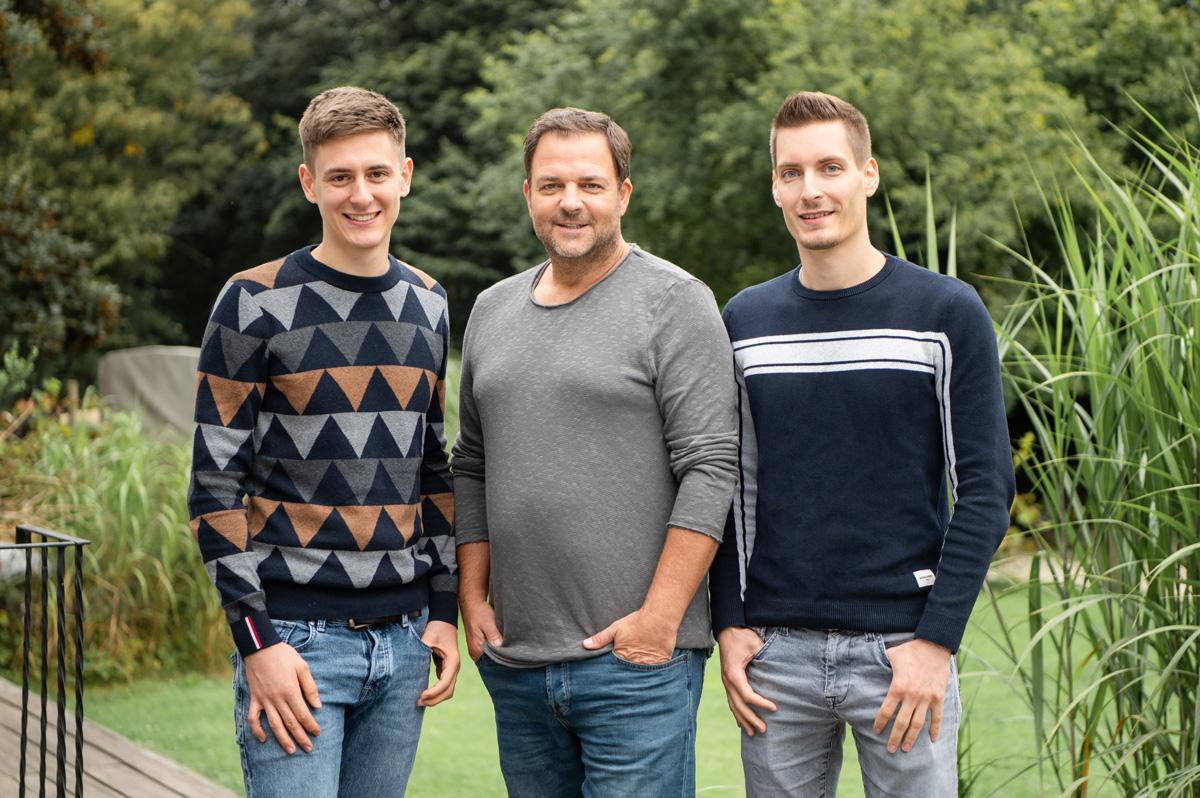 Jan, Martin und Christoph